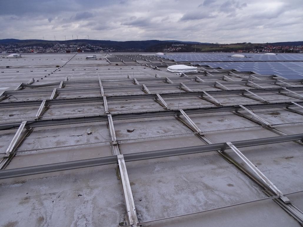 Bild von einer Photovoltaikanlage in Bad Hersfeld